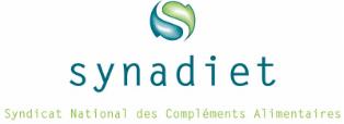 Logo de Synadiet, compléments alimentaires